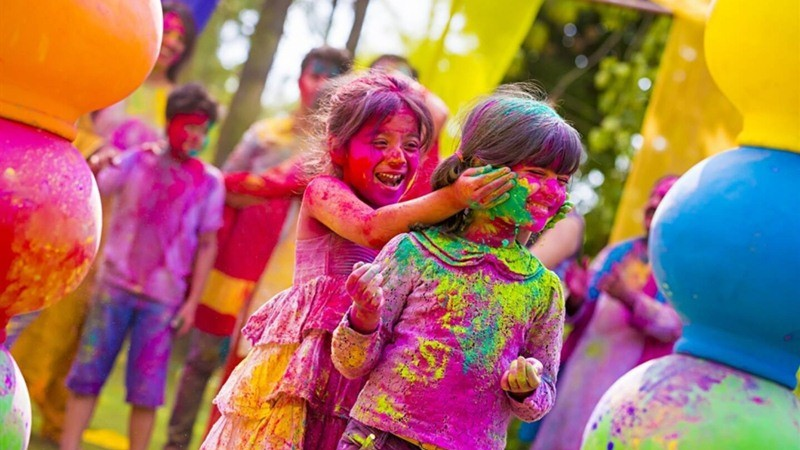 Best places to celebrate Holi